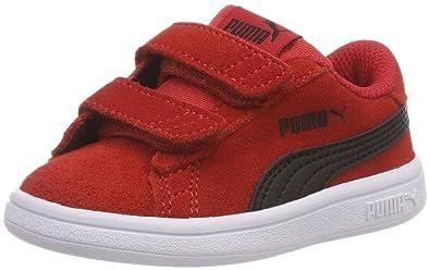 Puma Smash V2 SD V PS, Baskets Basses Mixte Enfant