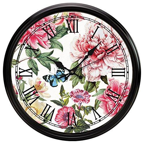 Michel Design Works Kitchen Clock Peony Kitchen