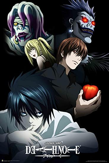AmazonCom Deathnote  Characters Poster  X In Home  Kitchen