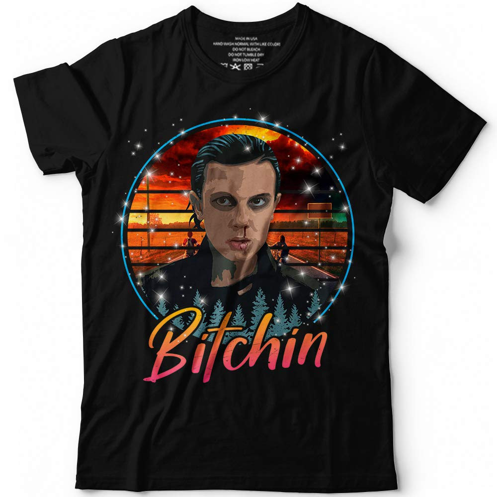 Eleven Character Nerdy Geeky Science Fiction Tv Show Retro Customized T Shirt