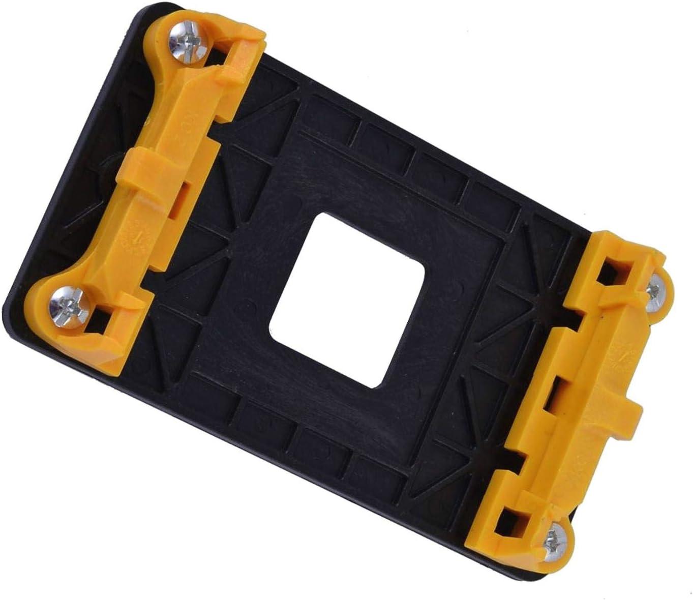 JK-2 Soporte del Ventilador Base del Soporte Soporte de plástico AM2 AM2 + AM3 AM3 + FM1 FM2 AMD Amarillo