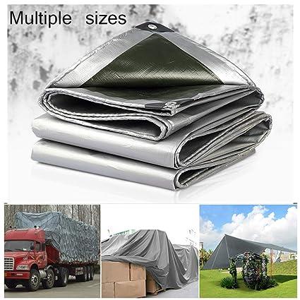 Tarpaulin Heavy Duty Waterproof Cover Tarp Ground Camping Sheet