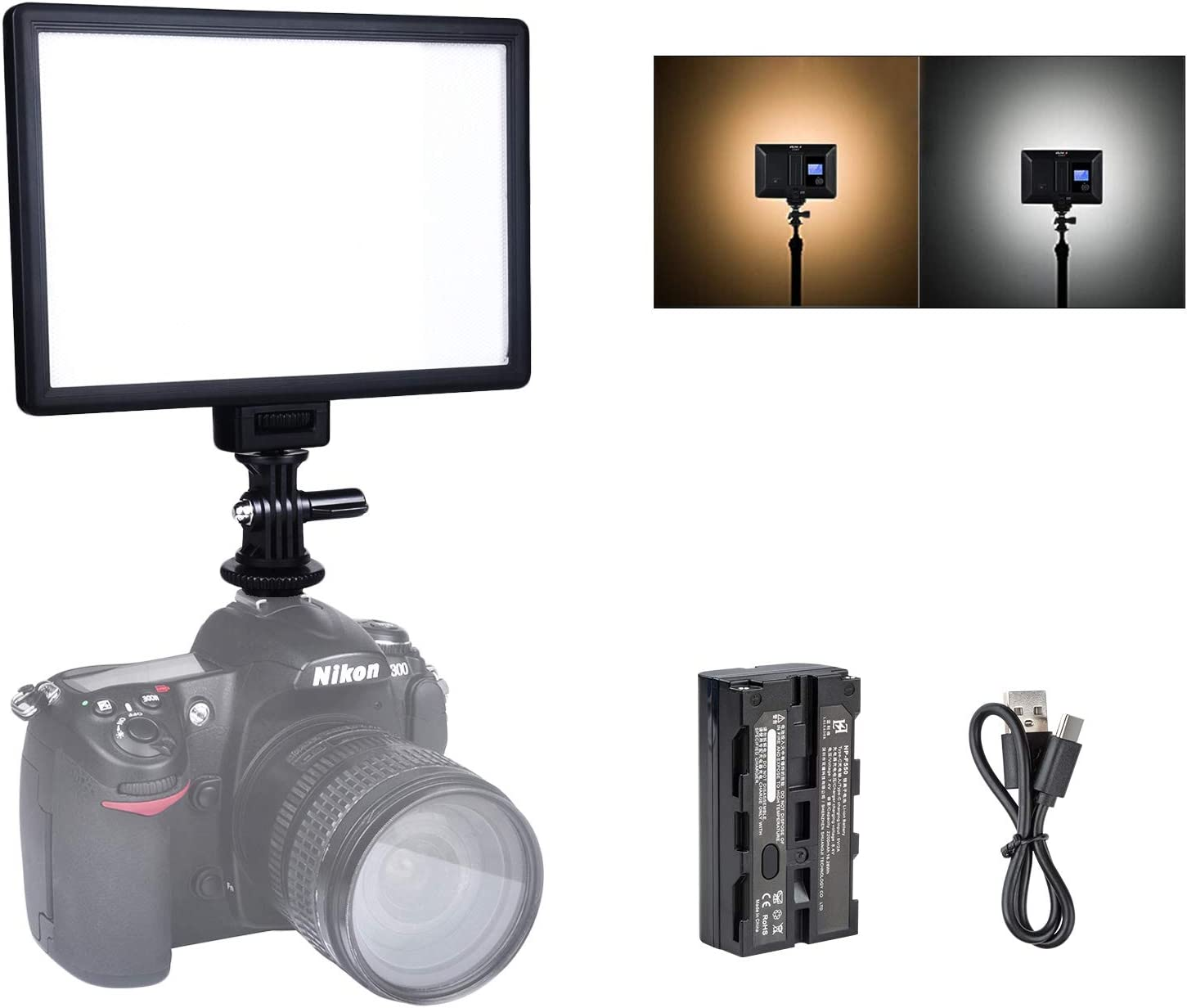 Viltrox L116t 5600k 3300k Led Licht Panel Dimmbare Kamera