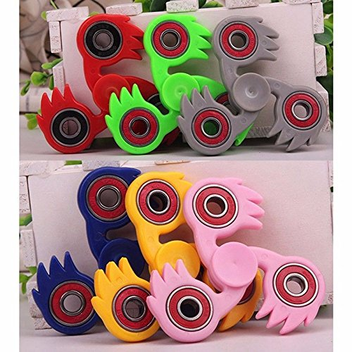 [jj Tri Fidget Hand Spinner Fingertip Toys Focus ADHD Autism Anti Stress Good Gifts random color] (Homemade Archery Costume)