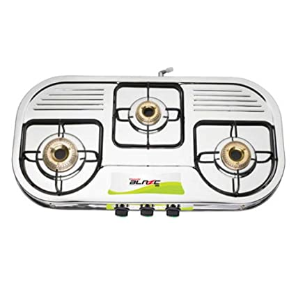 Butterfly LPG Stove, 3 Burners, Silver (L3501A00000)