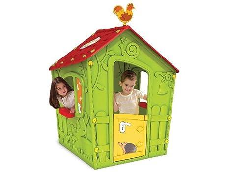 Keter - Caseta infantil, para dos niños (Curver, 223440)