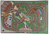 Fisher-Price Thomas & Friends Wooden Railway Island of Sodor Felt Playmat