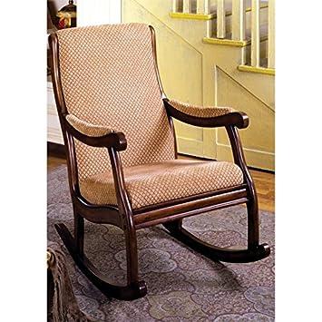 Sensational Amazon Com Furniture Of America Rivers Rocker In Antique Beatyapartments Chair Design Images Beatyapartmentscom