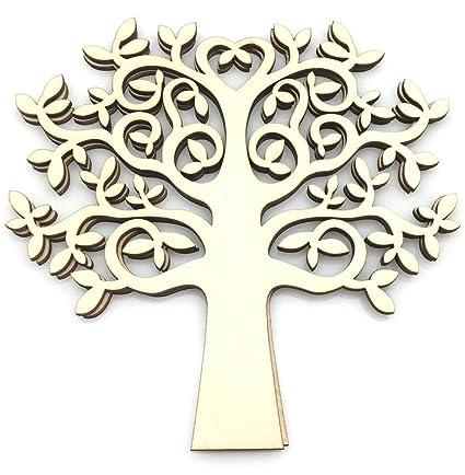 Amazon Ozxchixu Tm 5pcs Tree Shape For Crafts With Added
