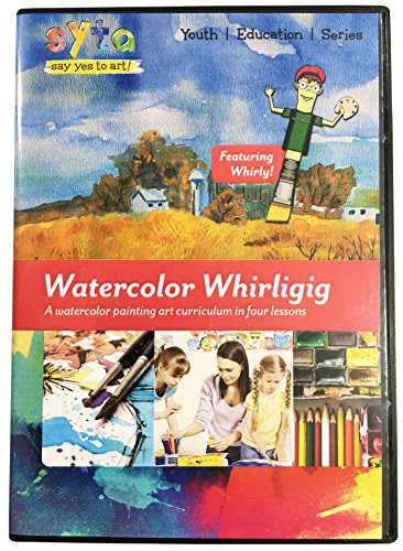 Learn Watercolor Painting in 4 Easy Lessons DVD | How To Paint with Watercolor | Watercolor Techniques DVD | Landscape Art | Watercolor Painting Lessons Video | Watercolor Art School DVD