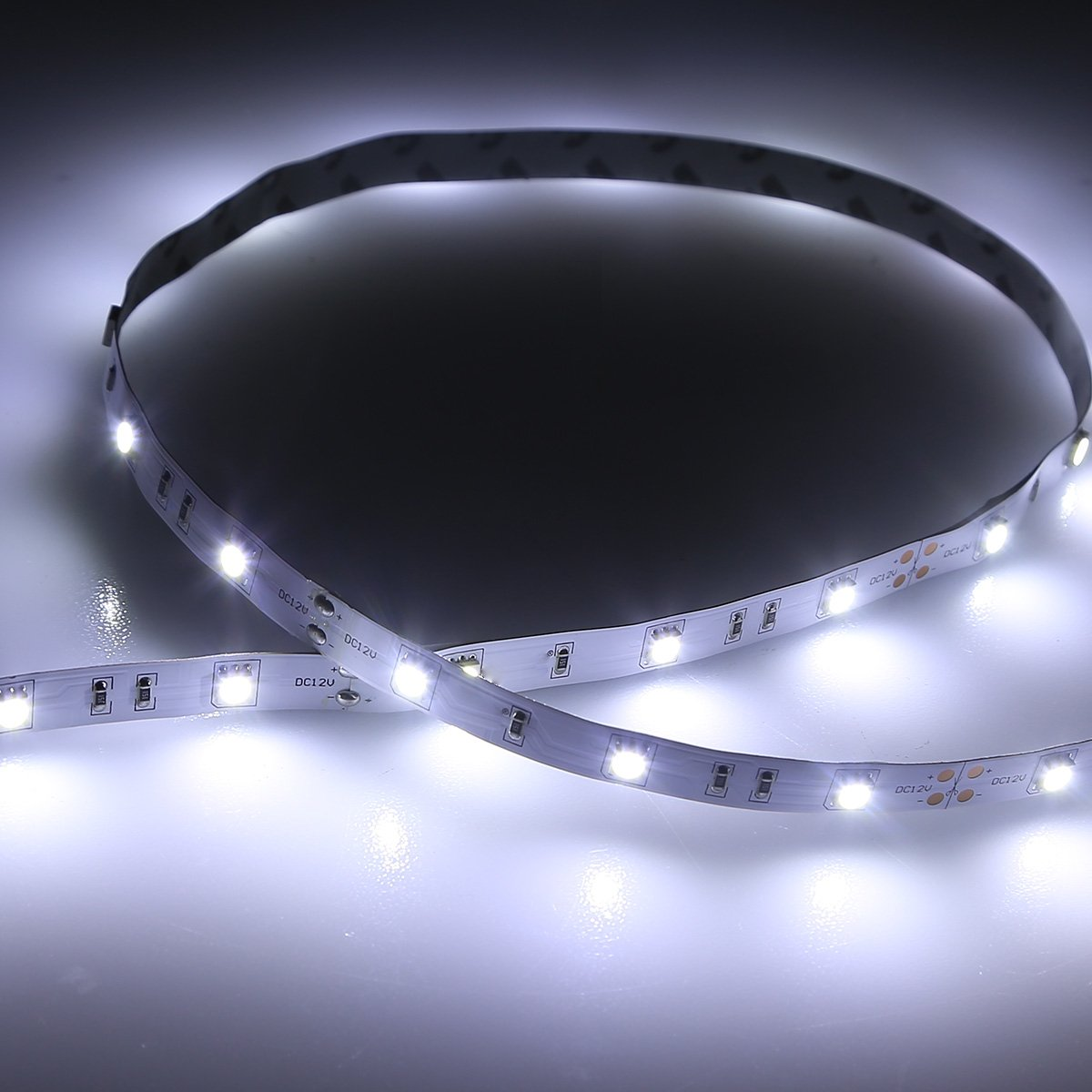 Daylight Strip Lights Amazon le 300 smd 5050 leds flexible strip lights 6000k amazon le 300 smd 5050 leds flexible strip lights 6000k daylight white non waterproof 12 volt indoor party christmas holiday festival celebration audiocablefo