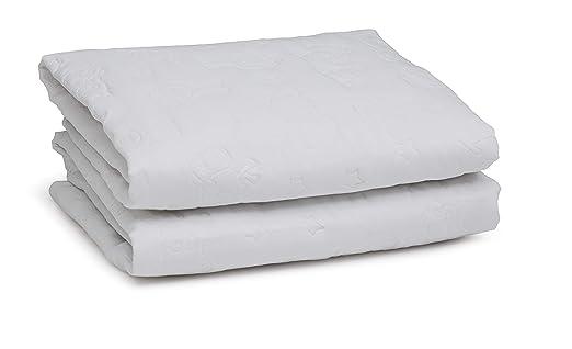 Amazon.com : Serta Sertapedic Crib Mattress Liner Pads (Pack of 2)| Extra Protection for Babys Crib with Nanotex Technology| 100% Waterproof, White : Baby