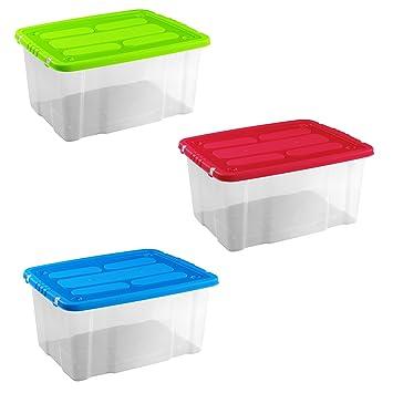 Contenitori in plastica trasparente - Ikea scatole plastica trasparente ...
