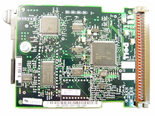 Dell PowerEdge 2650 4600 SCSI Backplane Board Daughter Card 3D735