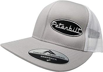 Pacific Headwear Peterbilt Logo Emblem Snapback Hat c90f6952dda