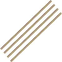 100mm Long H59 Brass Bar Round Rod Cylinder Assortment Kit Yodaoke 9pcs 2mm-10mm Dia