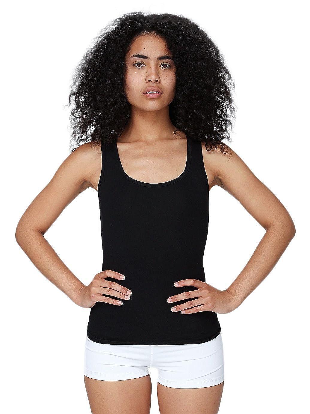 691de1c0b8abb0 American Apparel Women Cotton Spandex Tank Top 8308  1540908343 ...