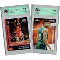 $63 » Giannis Antetokounmpo Leaf HYPE!, Zion Williamson Panini #76 Rookie Card Lot PGI