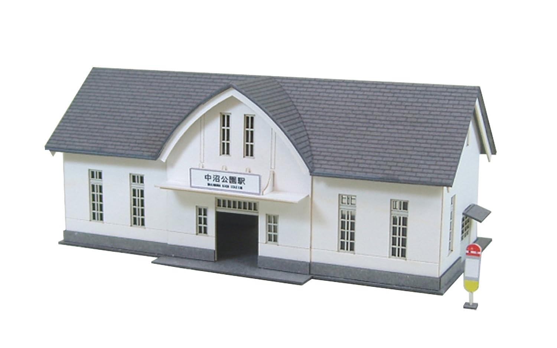 さんけい 1/150 なつかしのジオラマシリーズ 駅舎C MP03-24 B002TYZVYA