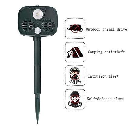 Patrulla de control de plagas, Alarma antirrobos para ...