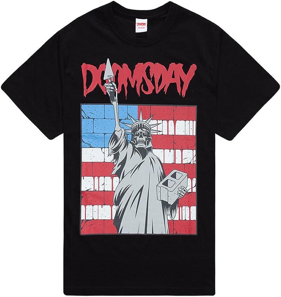 Doomsday Mexi Wall - Camiseta (Talla L), Color Negro: Amazon.es: Ropa y accesorios
