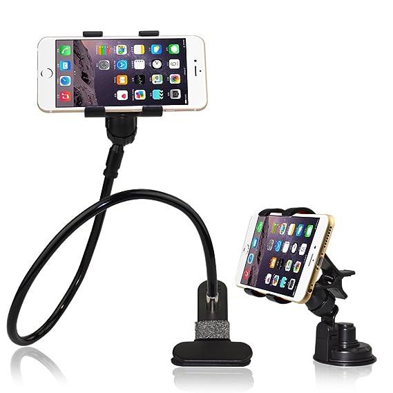 Amazon.com: BESTEK Universal Gooseneck Cell Phone Holder Clip Holder ...