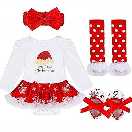 edb043002 Amazon.com  Baby Girls My First Christmas Costume Princess Lovely ...