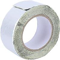 URRNDD Multifunctionele Butyl Rubber Waterdichte Tape voor Dakafvoerpijp Reparatie 7.5 cm* 10 m voor Crack Reparatie…