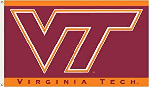 Flagpole-To-Go NCAA VA Tech Hokies Flag 3' x 5' Flag Flag