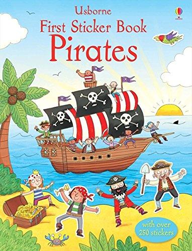 First Sticker Book Pirates (First Sticker ()