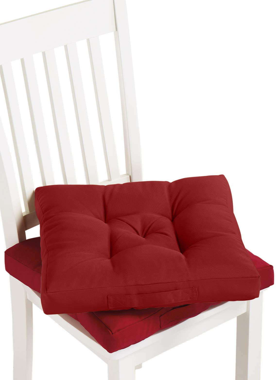 Carol Wright Gifts Carry Cushion, Color Burgundy, Burgundy by Carol Wright Gifts (Image #1)