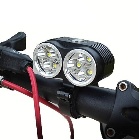 DYALYD Lámpara de Bicicleta Walkefire Luz de Bicicleta 10000LM 6 x ...
