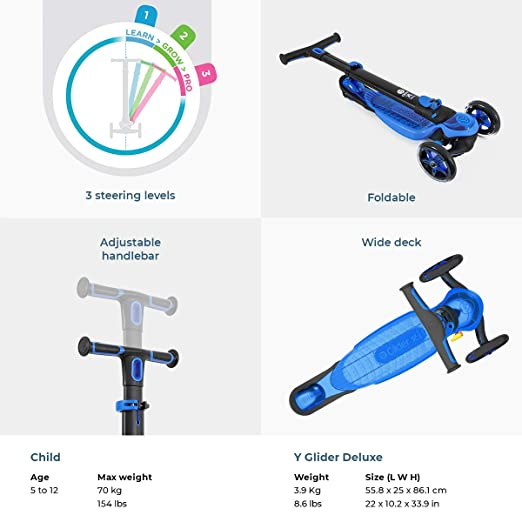 Y Glider XL Deluxe azul: Amazon.es: Deportes y aire libre