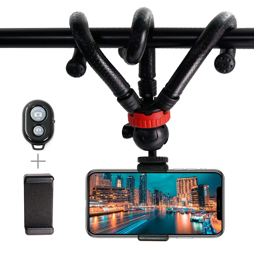NX1000 NX210 /& NX20 WB150F DURAGADGET 2-in-1 Extendable Travel Tripod Compatible with Samsung NX11