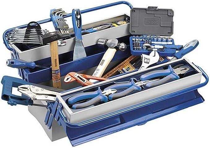 Alyco 192736 - Caja de herramientas metalica de 5 bandejas 500 x ...