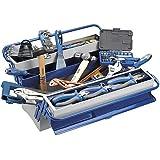 Alyco 192736 - Caja de herramientas metalica de 5 bandejas 500 x 200 x 240 mm