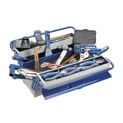 Alyco 192736 - Caja de herramientas metalica de 5 bandejas ...
