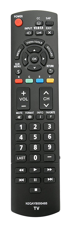 Control Remoto N2QAYB000485 Panasonic TV tc p50c2 TC L37U...
