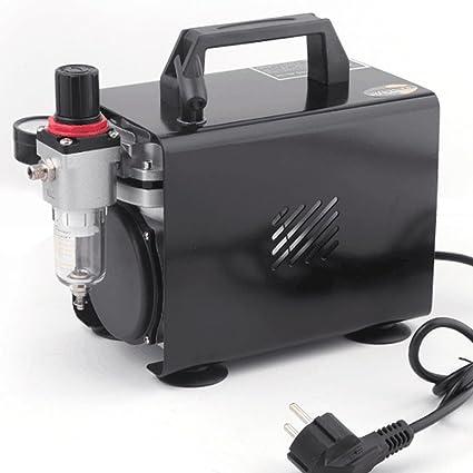 Compresor de aerógrafo Original Fengda FD-18A / regulador de presión / 4 bar /