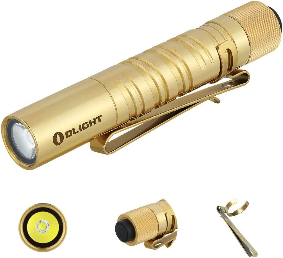 OLIGHT 180 Lumen I3T Red Tail Switch Flashlight EDC Mini Keychain Torch