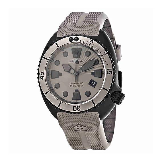 Zodiac ZO8014 - Reloj para hombres, correa de goma