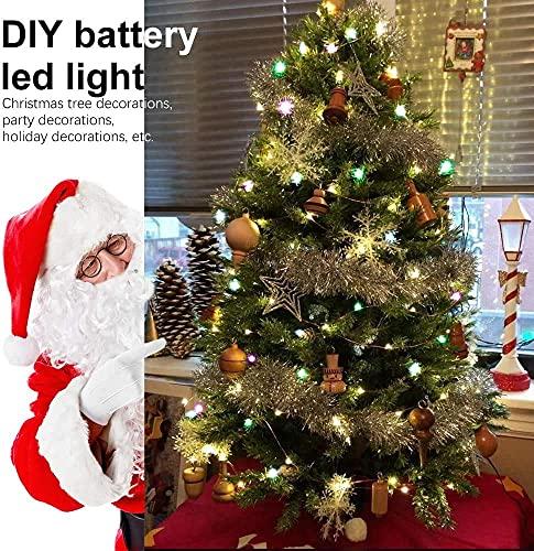 LED Bunt Lichterkette Innen, 16 Farben 5M 50 LED USB Kupferdraht Lichterkette Außen mit Fernbedienung & 4 Modi, Wasserdichte IP68 Farbwechsel Lichterkette für Zimmer, Weihnachten, Party, Hochzeit