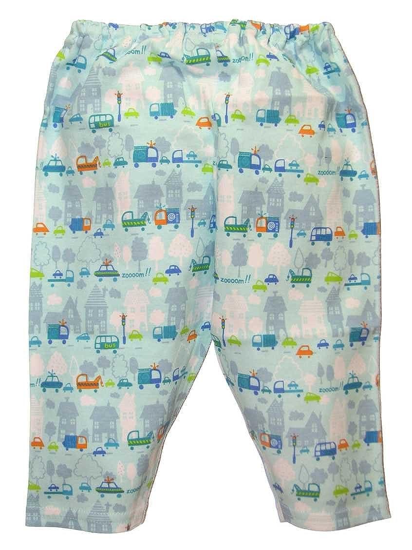 Zutano Rush Hour Baby Boys Leggings 0-6 Months Blue