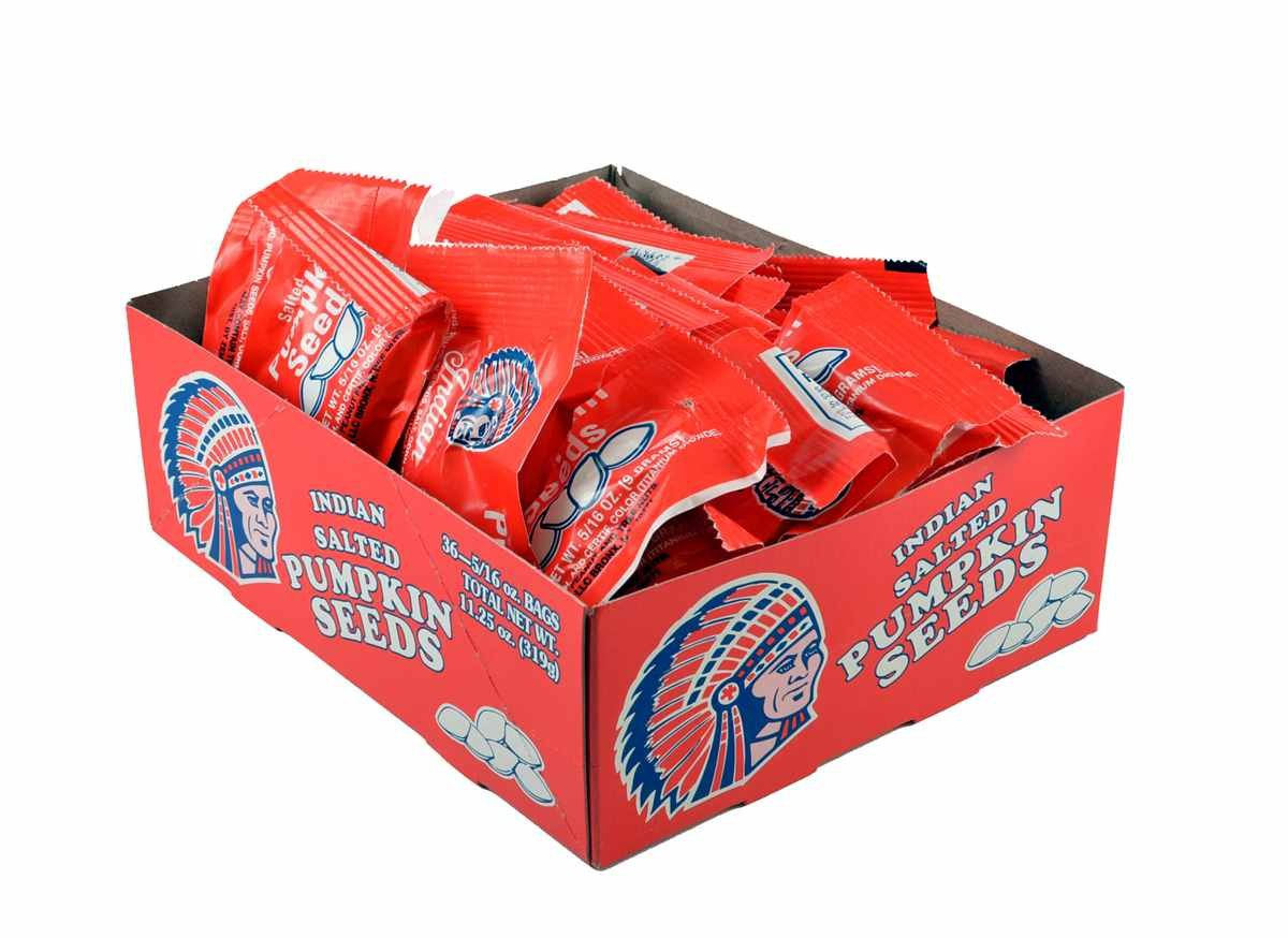 Indian Salted Pumpkin Seeds (36- 5/16 oz. bags)