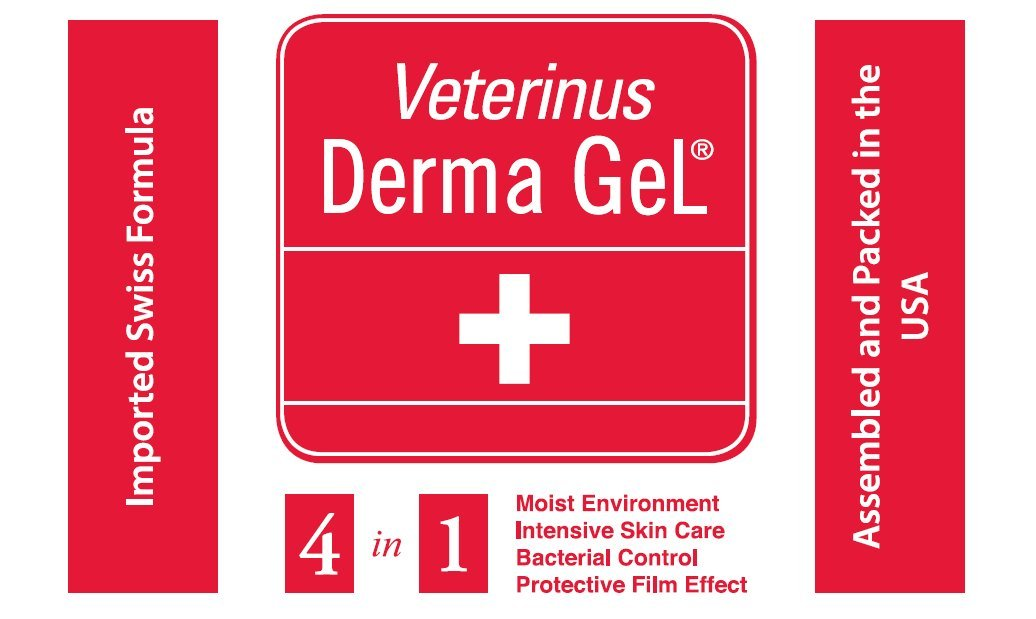 Veterinus Derma GeL FIRST AID - TRAVEL PACK - 9 x MINI Tubes 10mL - 0.34 fl.oz.