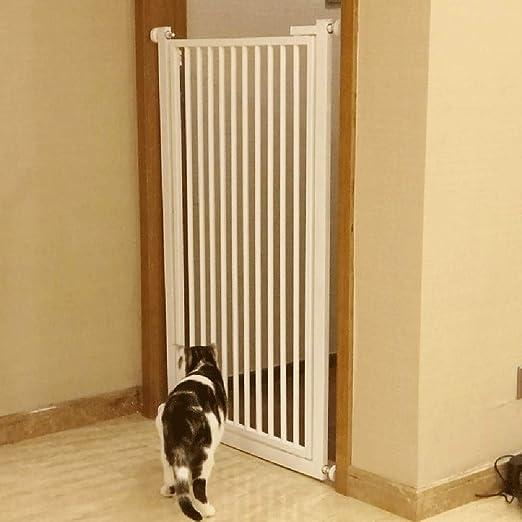 ERRU Barrera Seguridad Compuerta para Mascotas Expandible De Metal: Montaje A Presión para Puertas De Paso De Bebés para Puertas, Súper Ancho 74-120 Cm丨100 Cm De Alto (Size : 89-90cm): Amazon.es: Hogar