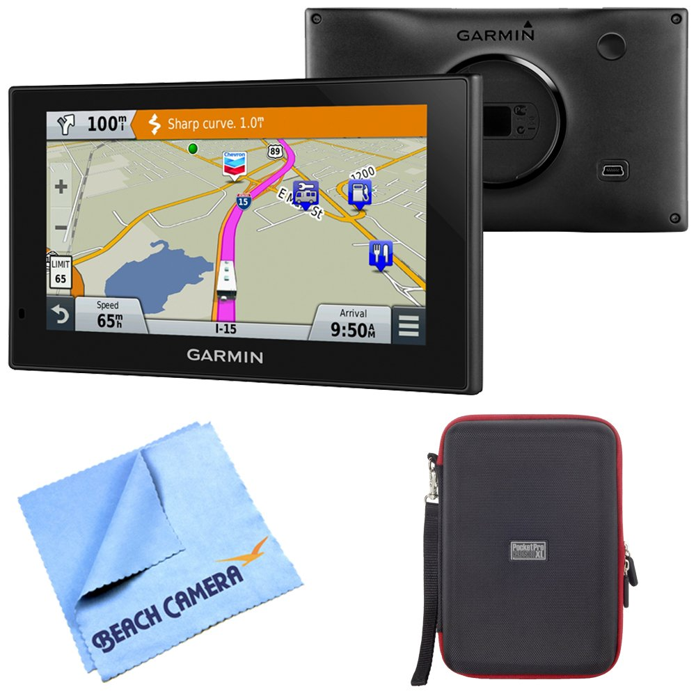 Garmin 010-01535-00 RV 660LMT Automotive GPS Hardshell Case Bundle includes Garmin RV 660LMT GPS, PocketPro XL Hardshell Case and Beach Camera Microfiber Cloth by Beach Camera