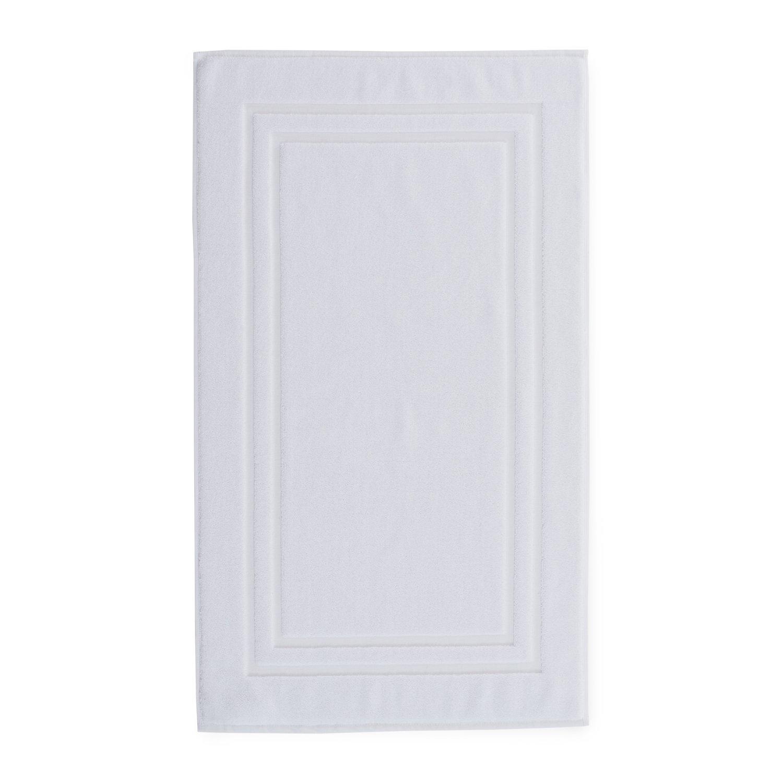 Chortex Irvington Hotel Luxury 850gsm 100% Turkish Cotton, Bath Mat-Pack of 1, White