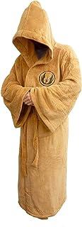 Groovy Men's jedi-bathrobe Beige, One Size