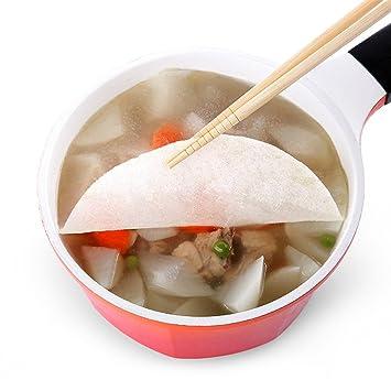 LittleDi® - Papel absorbente de aceite, para sopa de pasto a grasa, 2 paquetes de 24 hojas: Amazon.es: Hogar